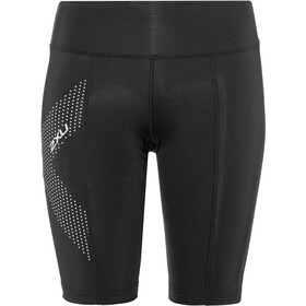 2XU Compression Short Longueur moyenne Femme, black/dotted reflective logo